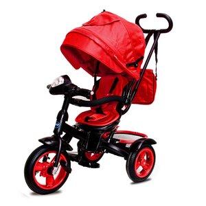 Трехколесный велосипед Neo 4 Air надувные колеса красный