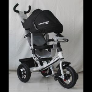 Трехколесный велосипед Crosser One Т1 надувные колеса черный