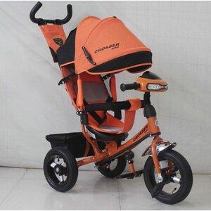 Трехколесный велосипед Crosser One 2017 надувные колеса оранжевый