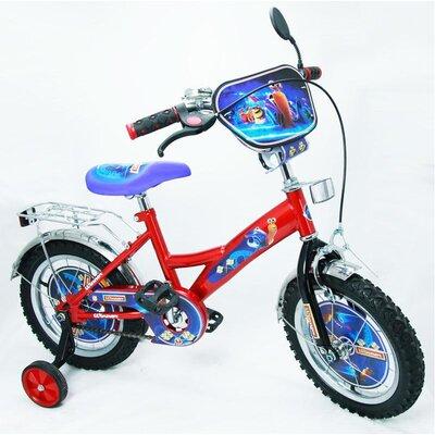Двухколесный велосипед Турбо 14 BT-CB-0002 красный с черным