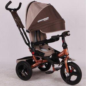 Трехколесный велосипед Сrosser Triniti Т400 коричневый