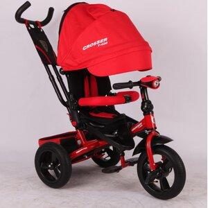 Трехколесный велосипед Сrosser Triniti Т400 красный