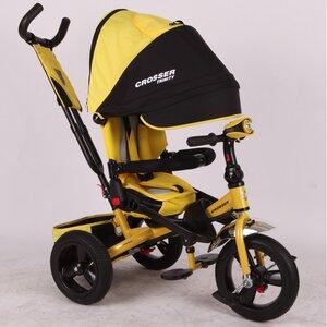 Трехколесный велосипед Сrosser Triniti Т400 желтый