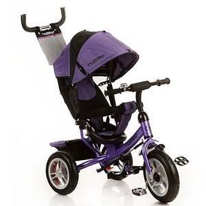 Трехколесный велосипед Turbo Trike М 3113 фиолетовый
