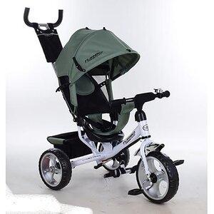 Трехколесный велосипед Turbo Trike М 3113 пена,оливковый