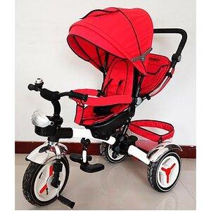 Трехколесный велосипед Turbo Trike М 3200 красный