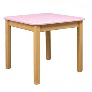 Детский столик Верес из МДФ цвет розовый