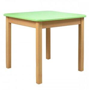 Детский столик Верес из МДФ цвет зеленый