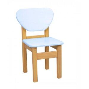 Детский стульчик Верес из МДФ цвет голубой