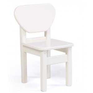 Детский стульчик Верес из МДФ цвет белый
