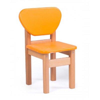 Детский стульчик Верес из МДФ цвет оранжевый производства Верес - главное фото