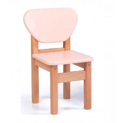 Детский стульчик Верес из МДФ цвет персик производства Верес - главное фото