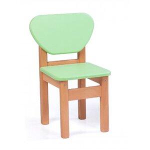 Детский стульчик Верес из МДФ цвет зеленый
