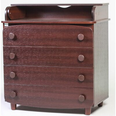 Комод-пеленатор Верес гладкие фасады цвет орех производства Верес - главное фото