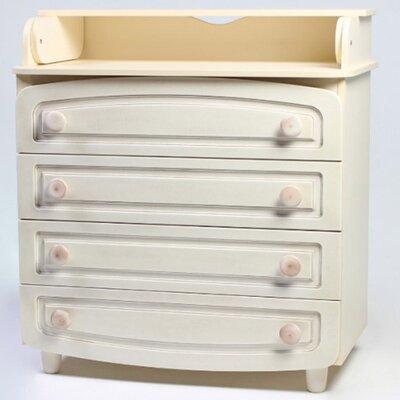 Комод-пеленатор Верес филенка цвет патина производства Верес - главное фото