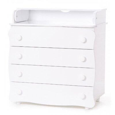Комод-пеленатор Верес 16 цвет белый производства Верес - главное фото