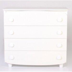 Комод Верес из ДСП (900) цвет белый