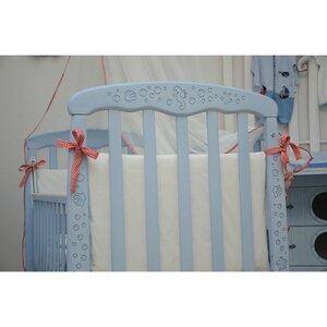 Детская кроватка Верес Соня ЛД-1 (патина морская лазурь)