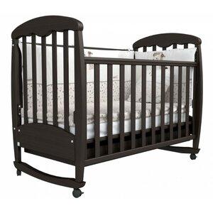 Детская кроватка Верес Соня ЛД-1 (орех)