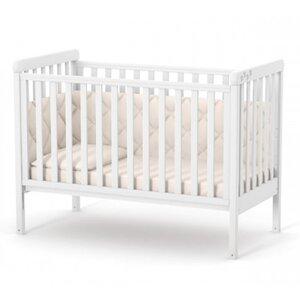 Детская кроватка Верес ЛД12 (без ящика) цвет белый