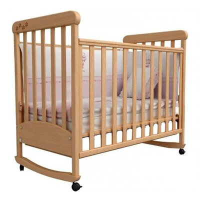 Детская кроватка Верес Соня ЛД-12 бук (резьба лапки)