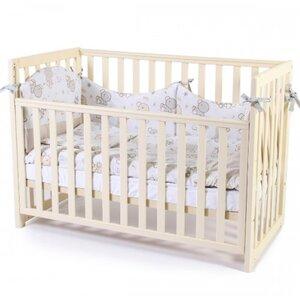 Детская кроватка Верес ЛД13 (без ящика) цвет слоновая кость