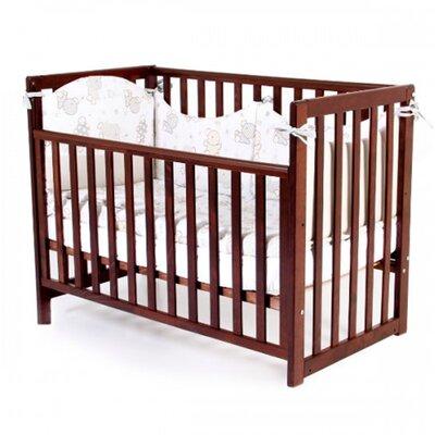 Детская кроватка Верес ЛД13 (без ящика) цвет орех производства Верес - главное фото