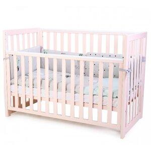 Детская кроватка Верес ЛД13 (без ящика) цвет розовый