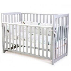 Детская кроватка Верес ЛД13 (без ящика) цвет серый