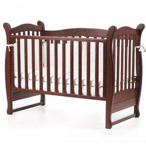 Детская кроватка Верес ЛД15 (без ящика) цвет орех