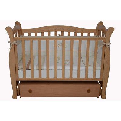 Детская кроватка Верес Соня ЛД-15 маятник+ящик бук