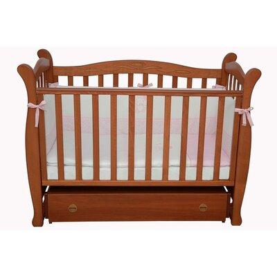 Детская кроватка Верес Соня ЛД-15 маятник+ящик ольха