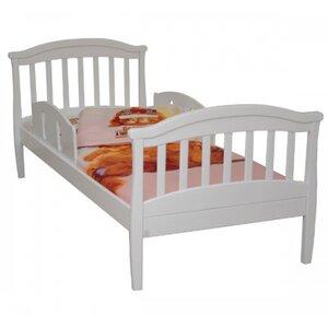 Подростковая кровать Верес ЛД17 (80*190) цвет белый