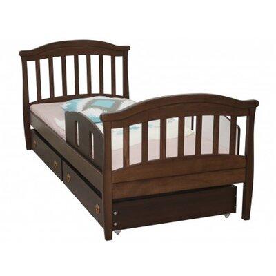 Подростковая кровать Верес ЛД17 (80*190) цвет орех производства Верес - главное фото