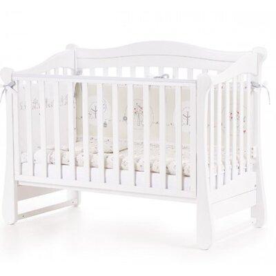 Детская кроватка Верес ЛД18 (без ящика) цвет белый производства Верес - главное фото