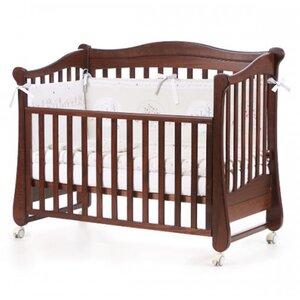Детская кроватка Верес ЛД18 (без ящика) цвет орех