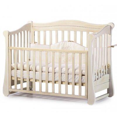 Детская кроватка Верес ЛД18 (без ящика) цвет патина производства Верес - главное фото