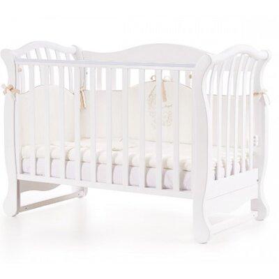 Детская кроватка Верес ЛД19 (без ящика) цвет белый производства Верес - главное фото