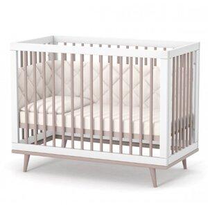 Детская кроватка Верес ЛД2 Нью Йорк цвет капучино-белый