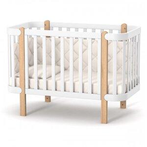 Детская кроватка Верес ЛД5 Монако цвет бело-буковый