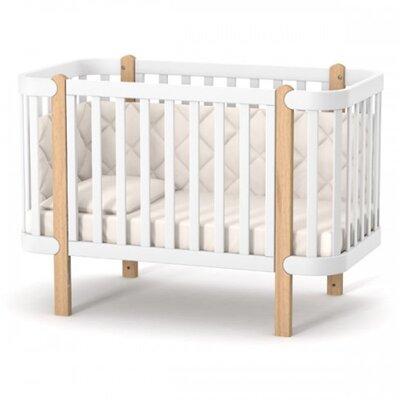Детская кроватка Верес ЛД5 Монако цвет бело-буковый производства Верес - главное фото