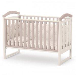 Детская кроватка Верес ЛД6 (без ящика) цвет капучино