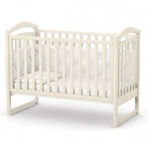 Детская кроватка Верес ЛД6 (без ящика) цвет слоновая кость