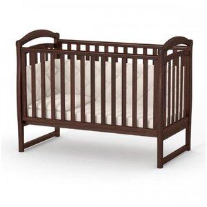 Детская кроватка Верес ЛД6 (без ящика) цвет орех
