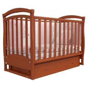 Детская кроватка Верес Соня ЛД-6 (маятник+ящик) ольха