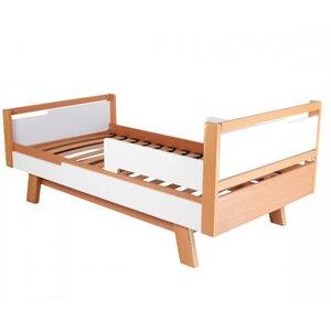 Подростковая кровать Верес Менхэттен (80*160см) цвет бело-буковый
