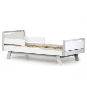 Подростковая кровать Верес Менхэттен (80*160см) цвет бело-серый