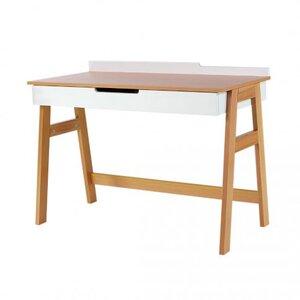Письменный стол Верес Манхэттен цвет бело-буковый