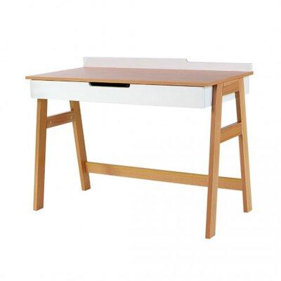 Письменный стол Верес Манхэттен цвет бело-буковый производства Верес - главное фото