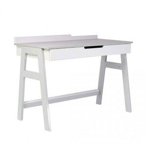 Письменный стол Верес Манхэттен цвет бело-серый